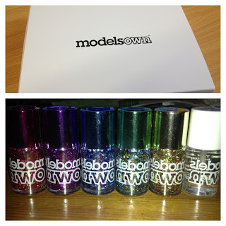 Model's own mirrorball collection