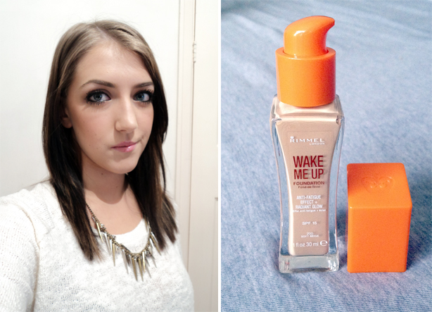 Review: Rimmel Wake Me Up Foundation