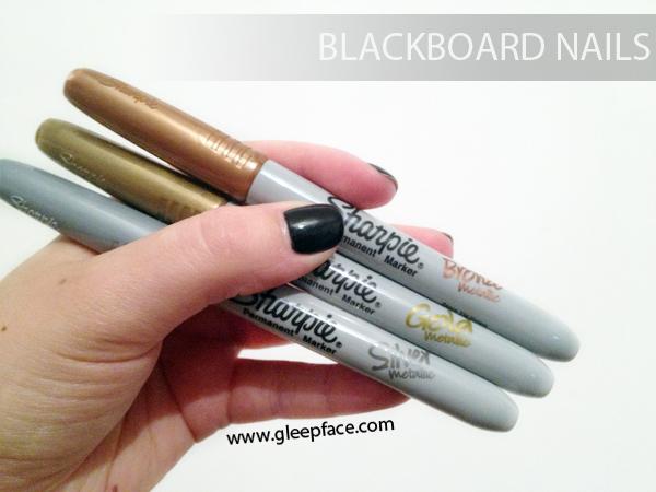 Blackboard nails