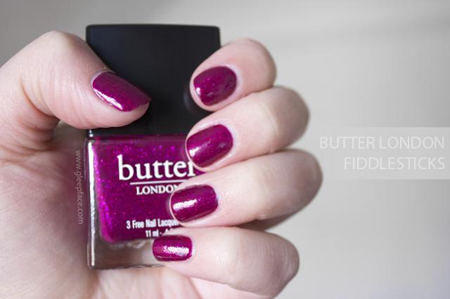 Valentines Appropriate Nails // Butter London Fiddlesticks - gleepface