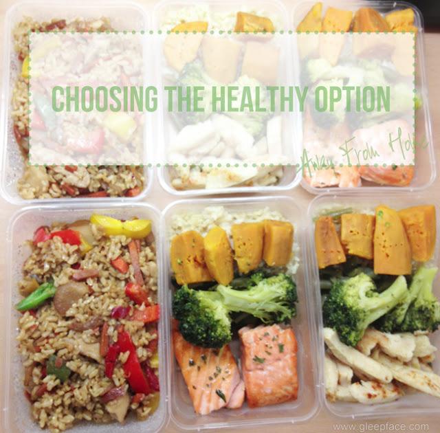 Choosing The Healthy Option – Weekend Away Edition