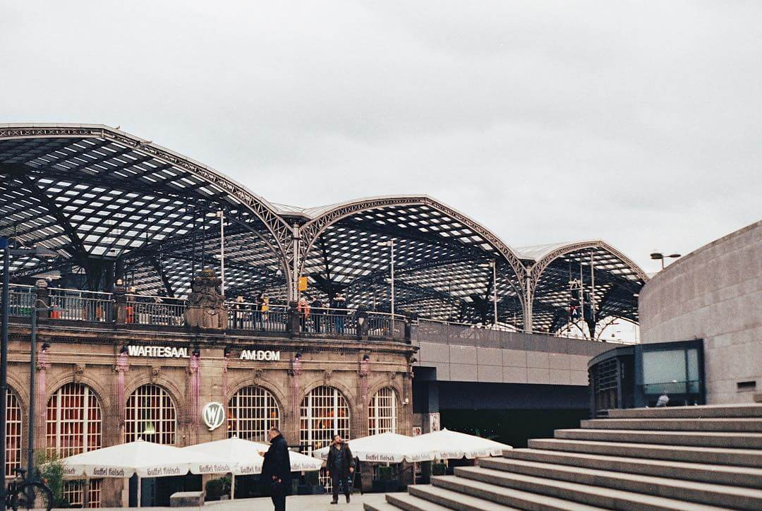 Cologne's trainstation